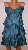 Жіночий нарядний Сарафан яскраво-зелений 10 (розмір 44) «Paprica»
