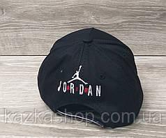 Мужская котоновая кепка в стиле Jordan (реплика), сезон весна-лето, большая вышивка, резинка,  размер 57-58., фото 3