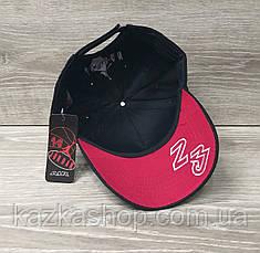 Мужская котоновая кепка в стиле Jordan (реплика), сезон весна-лето, большая вышивка, резинка,  размер 57-58., фото 2