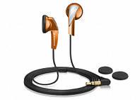 Наушники затычки Sennheiser MX 365 Orange Частотный диапазон наушников 22 — 20000 Гц.