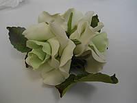 """Букет """"Розы светло-зелёные"""" d160 3шт. (код 03900)"""