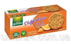 Печенье злаковое с апельсином  высокоолейновое с клетчаткой Gullon 425 г Испания