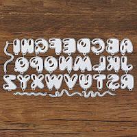 Ножи для вырубки Алфавит-шарики, 30 шт, 181*81 мм