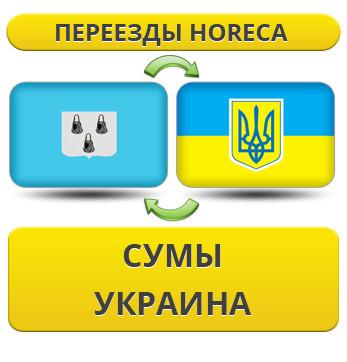 Переезды HoReCa из Сум по Украине!