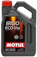 Масло моторное синтетическое  MOTUL 8100 ECO-LITE SAE 0W20 (4L) 104982