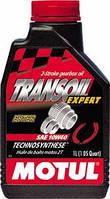 Масло трансмиссионное для скутеров Technosynthese MOTUL TRANSOIL EXPERT SAE 10W40 (1L) 105895