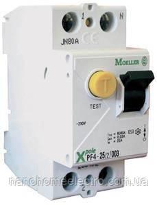 Пристрій Захисного Відключення УЗО PF4 63А 300мА 2п Eaton