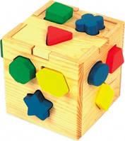 Сортер для ребенка Логический кубик