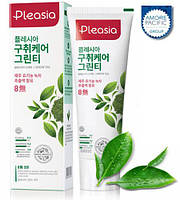 Зубная паста Pleasia Green Tea  Toothpaste