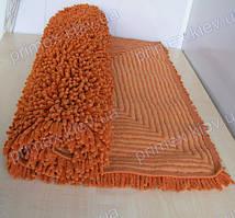Коврик для ванной оранжевый Индия