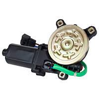 Моторедуктор привода стеклоподъемника левый DAEWOO  Lanos, Sens