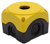 Кнопочный пост для 1-й кнопки IP65 (желт)
