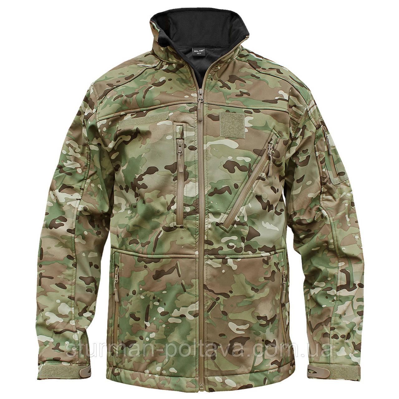 Куртка тактическая  SCU 14  (SOFTSHELL) цвет мультикам  Германия  - Магазин  Штурман  - (Полтава) в Полтаве