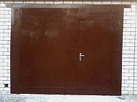 """Ворота гаражные 3,0х2,5 м металл 2,0 мм """"под ключ"""""""