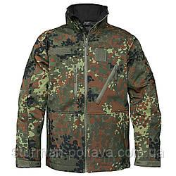 Куртка мужская тактическая демисезонная SOFTSHELL JACK SCU Mil-Tec камуфляж  флектарн Германия
