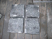 Производство брусчатки гранитной колотая габбро 7*7*7, фото 1