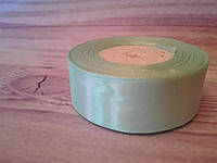 Атласная лента,  2,5 cм мята