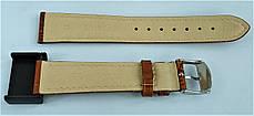 18 мм Кожаный Ремешок для часов CONDOR 521.18.03 Коричневый Ремешок на часы из Натуральной кожи, фото 3
