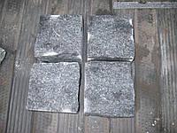 Производство брусчатки гранитной колотая габбро 10*10*10, фото 1