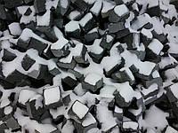 Производство брусчатки гранитной покостовка колотая 5*5*5, фото 1