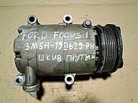 Компрессор кондиционера Форд Фокус Ford Focus 2006 г.в. на запчасти Volvo 3M5H-19D629-PH