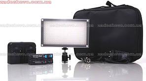 Cветодиодная накамерная панель для видеосъемки Lishuai (Оригинал) LED-312A (монодиодная) + комплект (LED-312A)