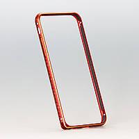 Бампер Golden Glow Red Rim для iphone 6 с золотистым узором