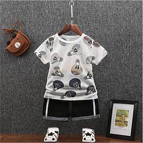 Літній костюм на хлопчика футбока +шорти 1год лампочка