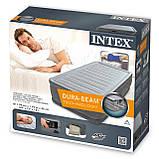 Надувная кровать со встроенным электронасосом 64412  99-191-46 см, фото 3