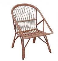 Кресло плетенное из лозы КО 2
