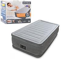Надувная кровать со встроенным электронасосом 64412  99-191-46 см, фото 1
