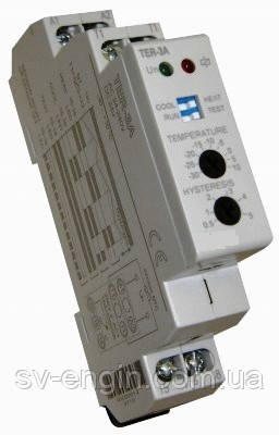 Термостаты  TER-3A,TER-3B,TER-3C,TER-3D,TER-3G,TER-3H. Обзор всего ряда термостатов.