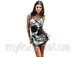 Платье Skull в стиле панк М
