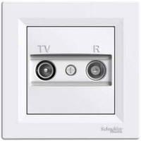 TV/R розетка проходная (8dB) Schneider Electric Asfora Белая