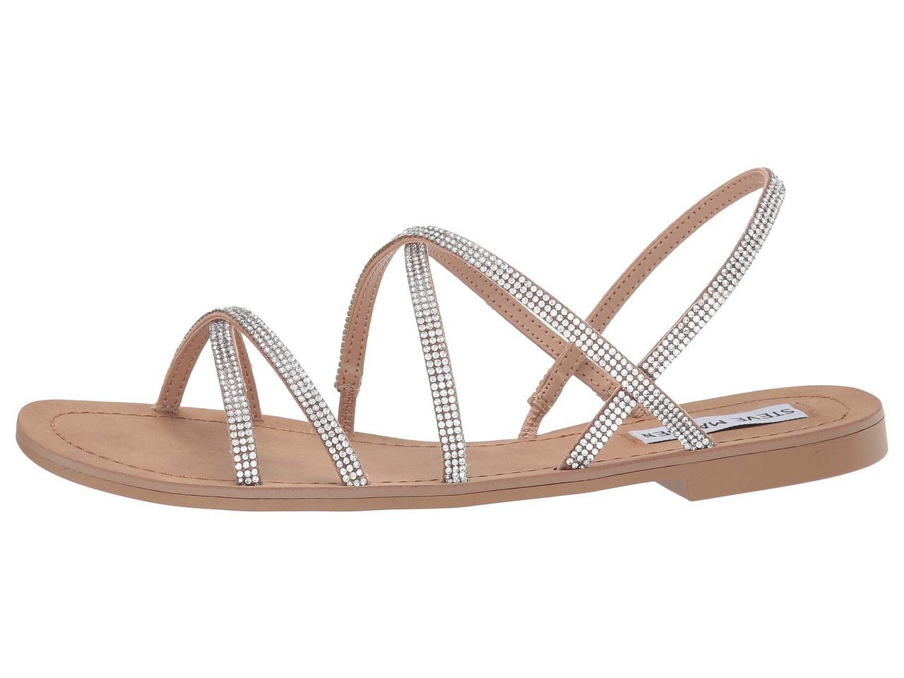 3059d041a46 Сандали/Вьетнамки (Оригинал) Steve Madden Rita Flat Sandals Natural Multi