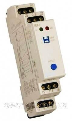 TER-7 - термостат для контроля за температурой обмотки электродвигателя.