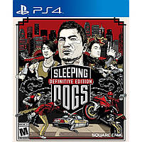 Игра Sleeping Dogs Definitive Edition (PS4)