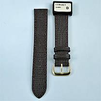 18 мм Кожаный Ремешок для часов CONDOR 177.18.02 Коричневый Ремешок на часы из Натуральной кожи, фото 2