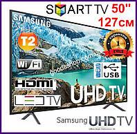 Телевизор Samsung Самсунг 50 дюймов (127см) 4K Ultra HD Smart TV UE50NU7100  Т2 WiFi LED Телевізор 2018 (A), фото 1
