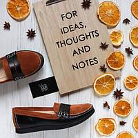 Женские туфли из натуральной кожи и замши . Возможен отшив в других цветах кожи и замши