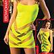 Сексуальное Мини платье на брителях Lime, фото 2