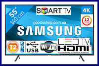 "Телевизор Samsung Самсунг 55 дюйма (138см) 4K Ultra HD Smart TV UE55NU7100  Т2 WiFi LED Телевізор 55"" 2018 (A)"