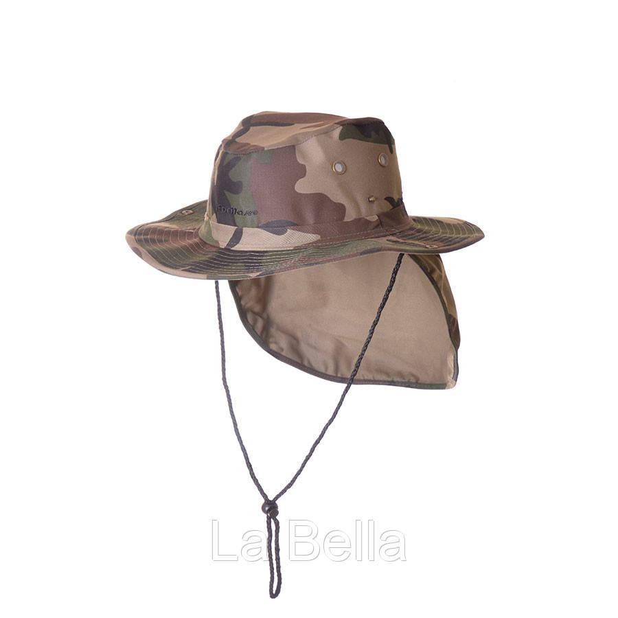 Шляпа камо с защитой от солнца