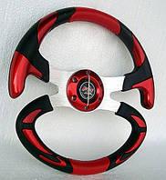 Руль Формула №605 (красный).