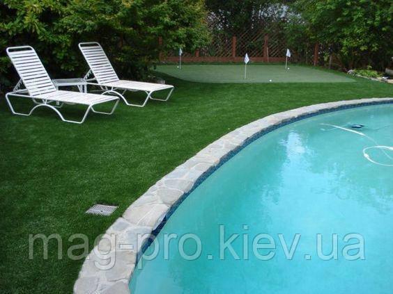 Искусственная трава для бассейна ESD 30 мм.