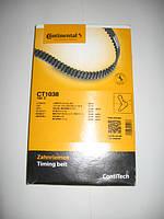 Ремень ГРМ ContiTech CT1038 на Citroen, Fiat, Iveco, Opel, Peugeot, Renault