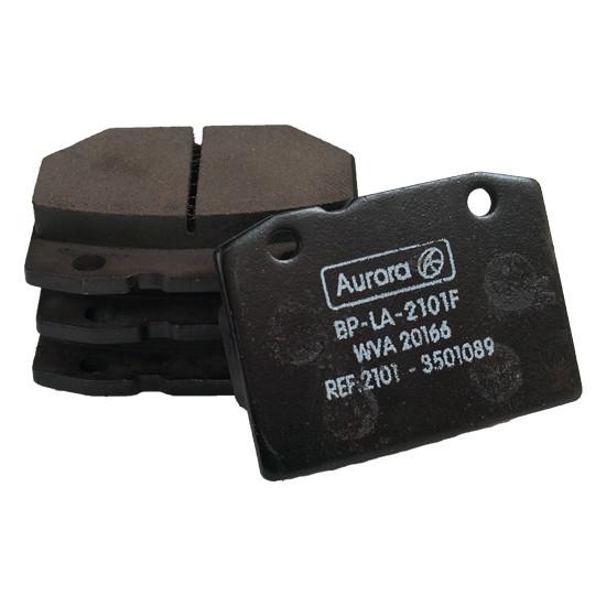 Колодка дискового тормоза передняя ВАЗ 2101, 21011, 2102, 2103, 2104, 2105, 2106, 2107 AURORA