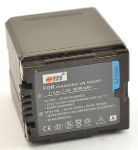 Аккумулятор Panasonic VW-VBG260 (DSTE)