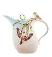 Фарфоровый заварочный чайник Зимородок Кукабара (Pavone) FM- 77/ 1