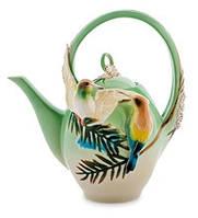 Фарфоровый заварочный чайник Радужная щурка (Pavone)